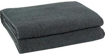 ODEJA SOFT FLEECE, SIVA - antracit, Konvencionalno, tekstil (160/200cm) - Zoeppritz