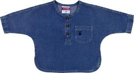 BLUSE - Blau, Basics, Textil (68null) - My Baby Lou