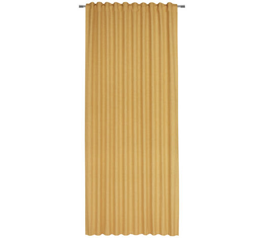FERTIGVORHANG halbtransparent  - Gelb, Basics, Textil (140/245cm) - Esposa