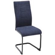 SCHWINGSTUHL Webstoff Grau, Schwarz  - Schwarz/Grau, Design, Textil/Metall (43/99/62cm) - Carryhome