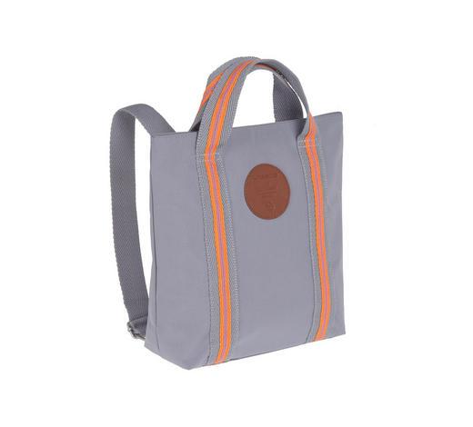 KINDERRUCKSACK - Orange/Grau, Basics, Textil (25/10/29cm) - Lässig