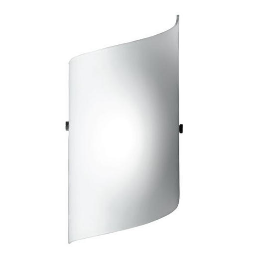 WANDLEUCHTE - Weiß, LIFESTYLE, Glas (24/13cm)