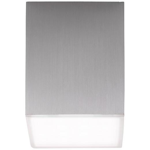 LED-DECKENLEUCHTE - Alufarben, KONVENTIONELL, Kunststoff/Metall (7,5/6,5/6,5cm)