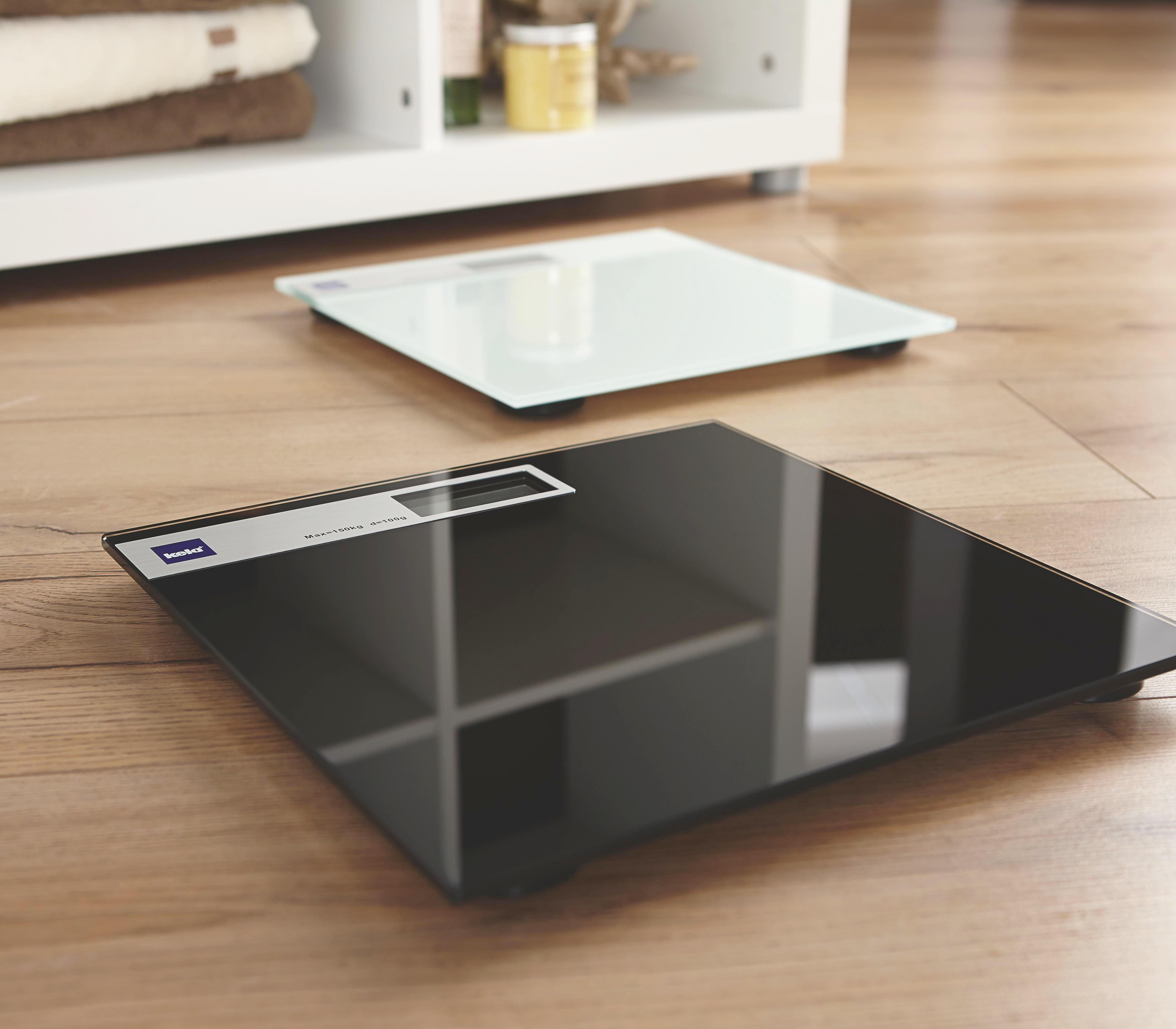 PERSONENWAAGE - Weiß, Basics, Glas (30/2cm)