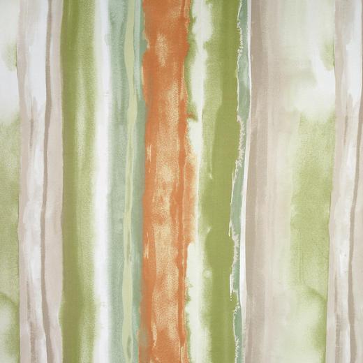DEKOSTOFF per lfm black-out (lichtundurchlässig) - Braun/Orange, Design, Textil (150cm) - ESPOSA