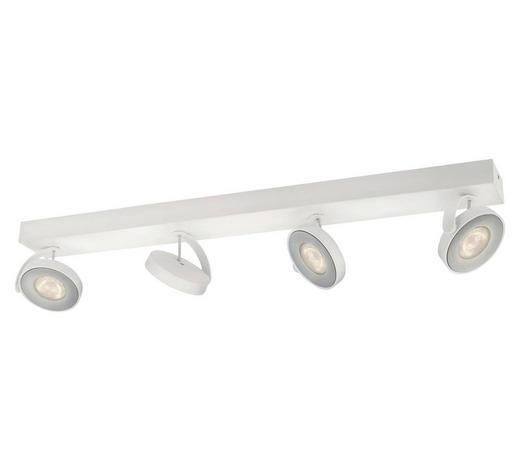 MYLIVING LED-DECKENLEUCHTE   - Weiß, Design, Metall (62,8/9/9,3cm) - Philips
