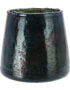 WINDLICHT  - Dunkelblau, Trend, Glas (12/12cm)