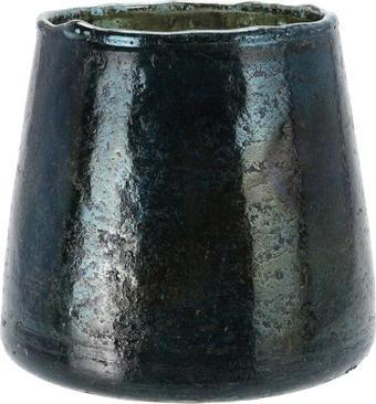 WINDLICHT - Dunkelgrün, Trend, Glas (12/12cm)