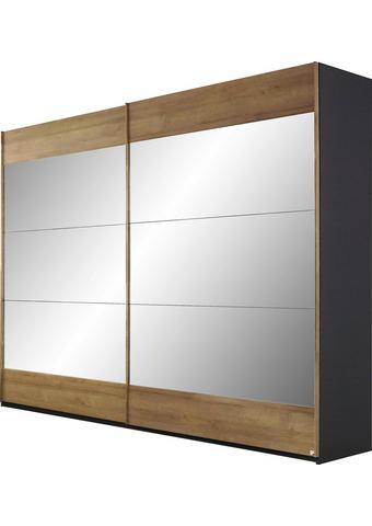 OMARA Z DRSNIMI VRATI,  - Design, kovina/leseni material (270/223/69cm) - Novel