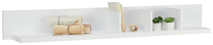 WANDBOARD in 143/18/20 cm Weiß  - Weiß, LIFESTYLE, Holzwerkstoff (143/18/20cm) - Landscape