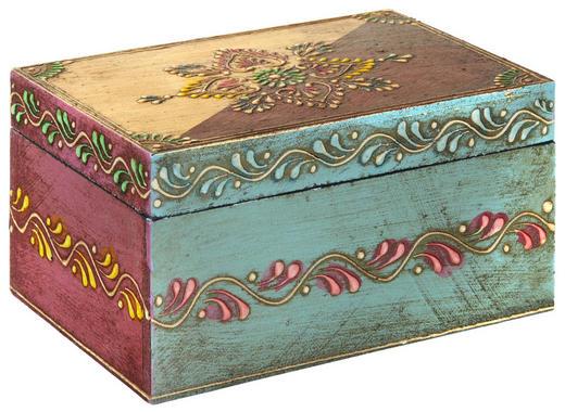 SCHMUCKKÄSTCHEN - Multicolor, LIFESTYLE, Holzwerkstoff (10/15/8cm) - Ambia Home