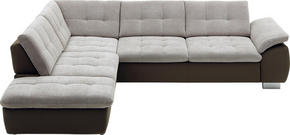SOFFA - beige/creme, Design, metall/textil (237/299cm) - Beldomo Style