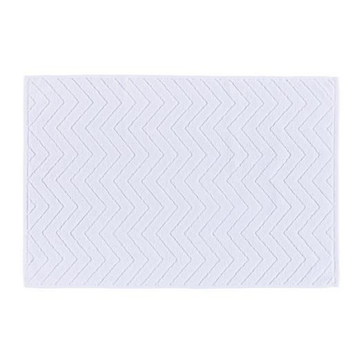 BADEMATTE  Weiß  50/70 cm - Weiß, KONVENTIONELL, Textil (50/70cm) - Boxxx