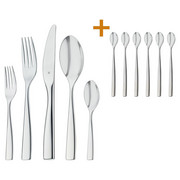 BESTECKSET 36-teilig  Diamondis - Edelstahlfarben, Design, Metall - WMF