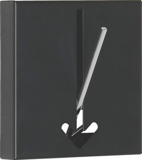 KROK - svart, Design, metall (16,4/17/2,8cm)