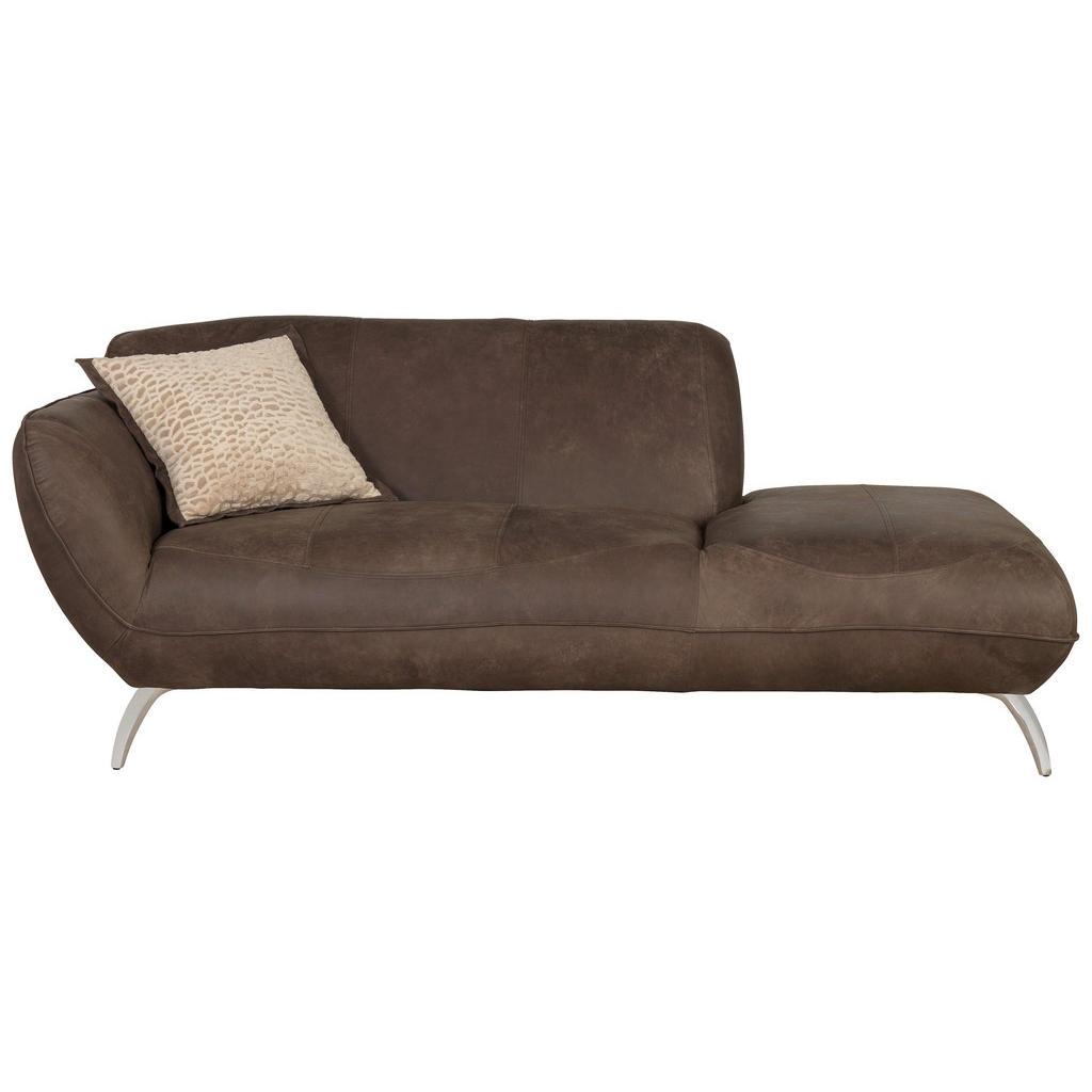 Landscape Sofa in leder dunkelbraun