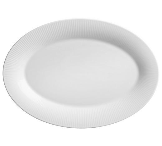 SERVIERPLATTE - Weiß, KONVENTIONELL, Keramik (25/18cm) - Ritzenhoff Breker