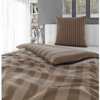 POSTELJNINA - rjava, Konvencionalno, tekstil (135/200cm) - Novel
