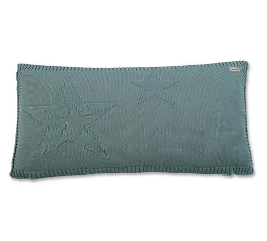 KINDERKISSEN 40/60 cm - Grün, Basics, Textil (40/60cm) - Sterntaler