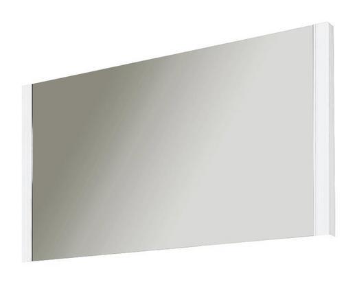 SPIEGEL Weiß - Weiß, Design, Glas/Holzwerkstoff (90/57/5cm) - Moderano