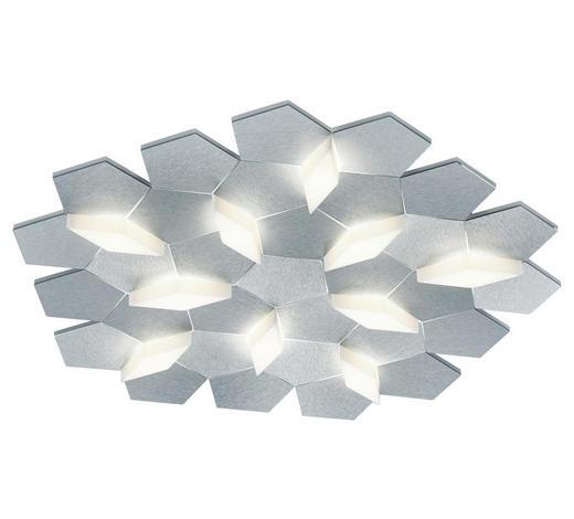 LED-DECKENLEUCHTE - Alufarben, Design, Metall (61,7/58,7/7,4cm) - Großmann