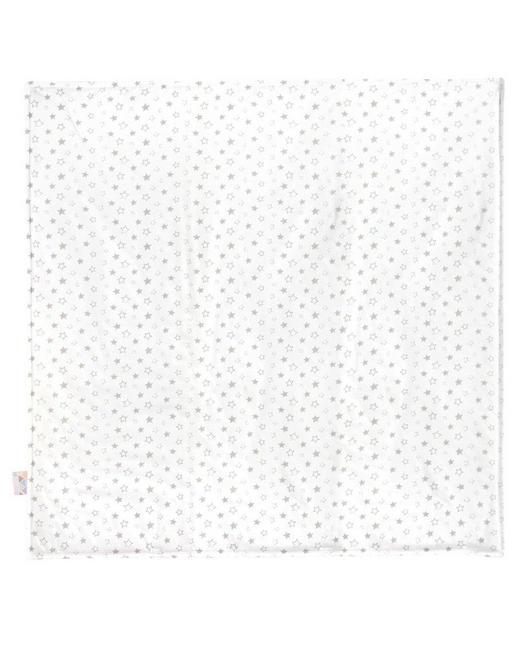SCHMUSEDECKE - Taupe/Weiß, Basics, Textil (120/120cm) - Zöllner