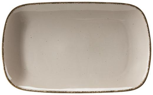 SERVIERPLATTE - Grau, Trend, Keramik (20/33cm) - Ritzenhoff Breker