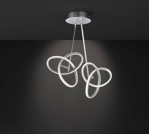 LED-DECKENLEUCHTE - Silberfarben, MODERN, Metall (50/55/23cm) - Wofi