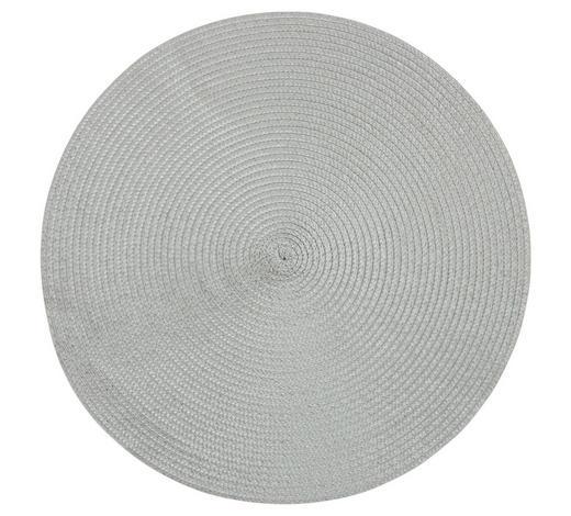 TISCHSET 38/38 cm Textil - Grau, Basics, Textil (38/38cm) - Homeware