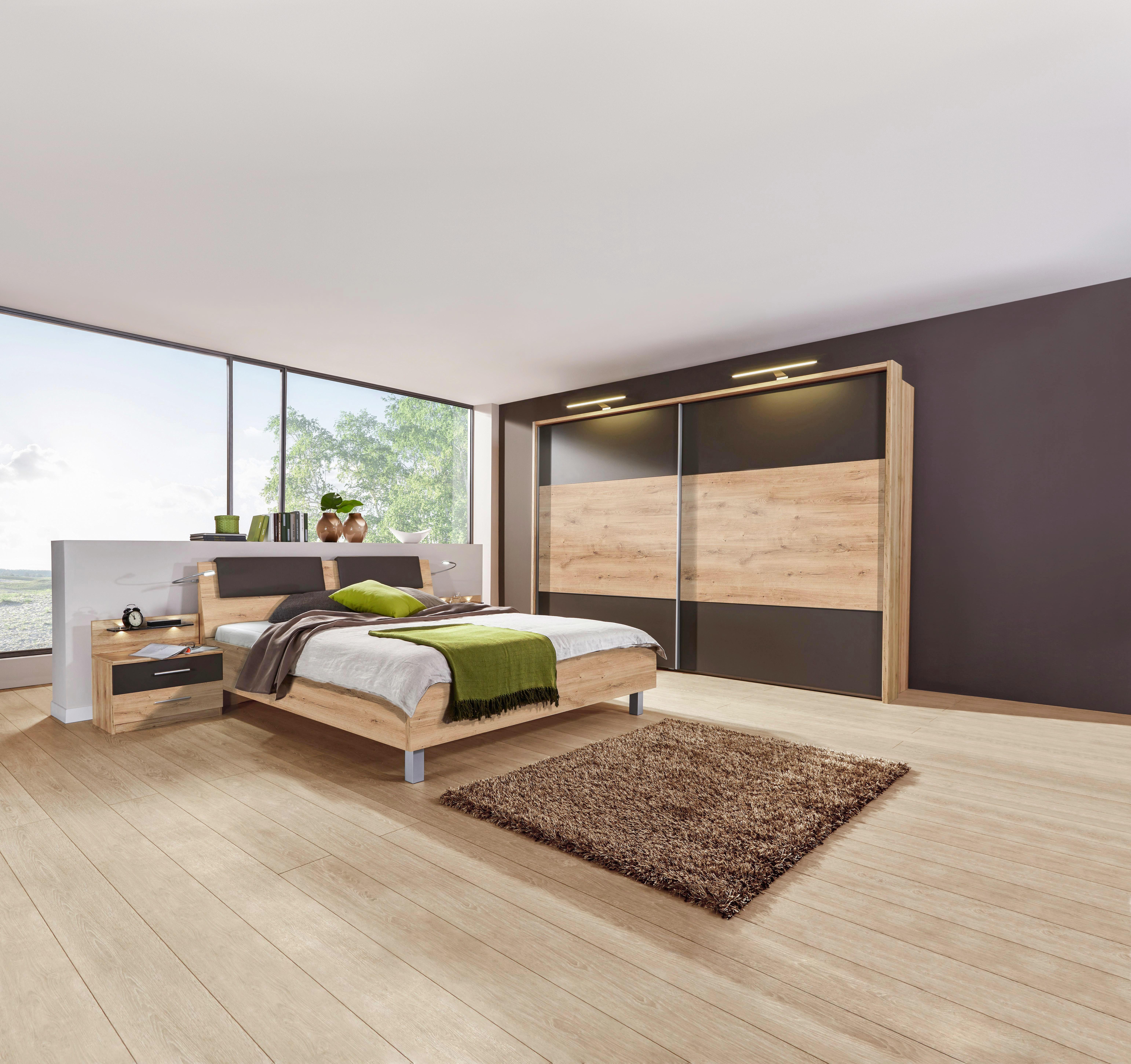 Schlafzimmer Eichefarben Dunkelbraun Online Kaufen Xxxlutz