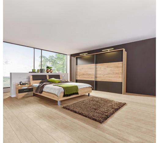 schlafzimmer dunkelbraun eichefarben eichefarbendunkelbraun konventionell 180200cm - Schlafzimmer Dunkelbraun