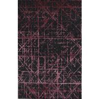 Orientteppich 140/200 cm  - Pink/Schwarz, Design, Naturmaterialien (140/200cm) - Esposa