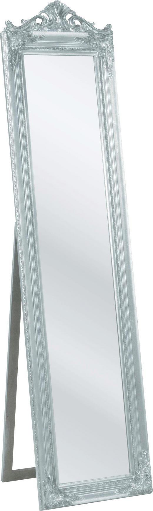 STANDSPIEGEL Rockstar by Geiss - Silberfarben, Design, Holz (45/180/40cm) - Kare-Design