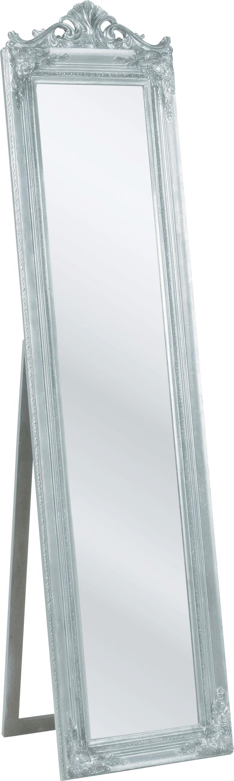 STANDSPIEGEL - Silberfarben, MODERN, Holz (45/180/40cm) - KARE-Design