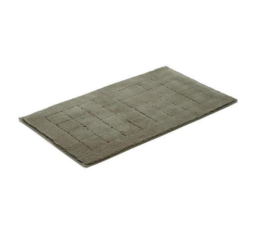 BADEMATTE in Grün 60/100 cm  - Grün, Basics, Textil (60/100cm) - Vossen