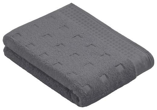 DUSCHTUCH 67/140 cm - Anthrazit, Basics, Textil (67/140cm) - VOSSEN