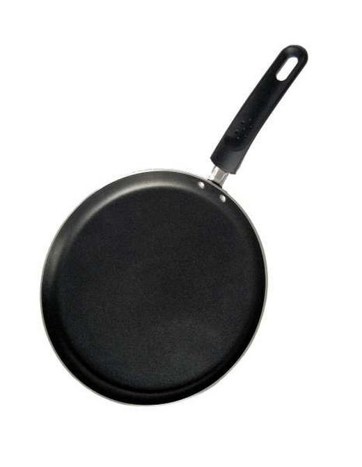 CREPESPFANNE PTFE-Antihaftbeschichtung - Schwarz, Basics, Metall (25cm) - Ballarini