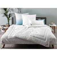 GANZJAHRESBETT  200/200 cm   - Beige, KONVENTIONELL, Kunststoff/Textil (200/200cm) - Sleeptex