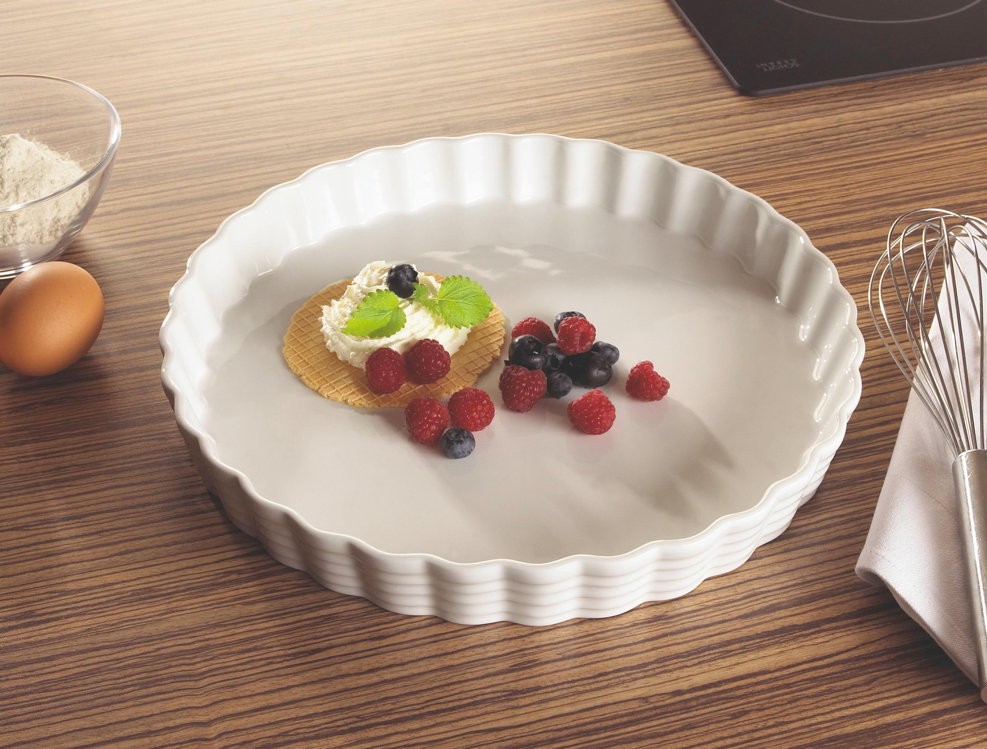 PEKAČ - bela, Konvencionalno, keramika (29,5cm) - HOMEWARE
