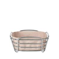 BROTKORB  - Rosa, Basics, Textil/Metall (20,5/9,5/20,5cm) - Blomus