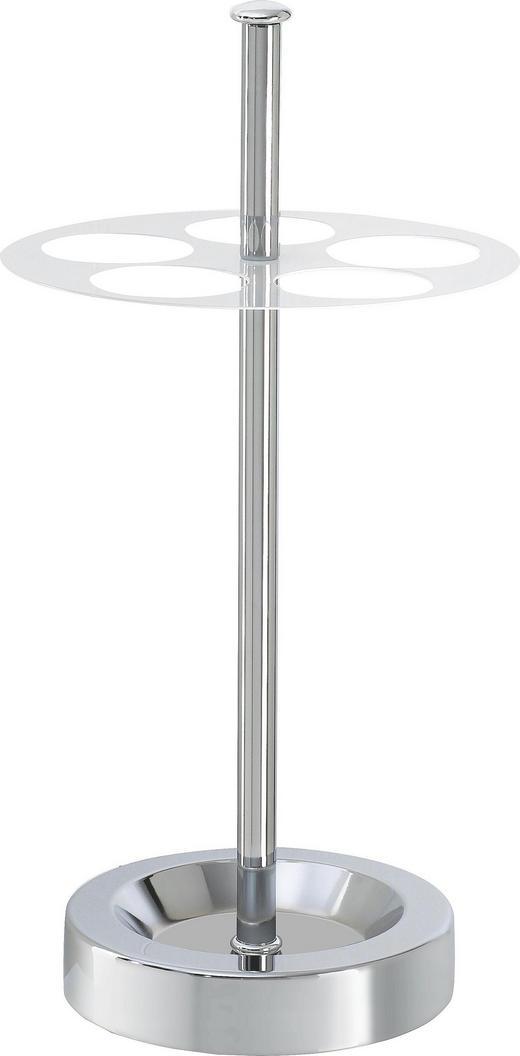 STALAK ZA KIŠOBRANE - bijela/boje kroma, Design, metal (32/65/3cm) - BOXXX