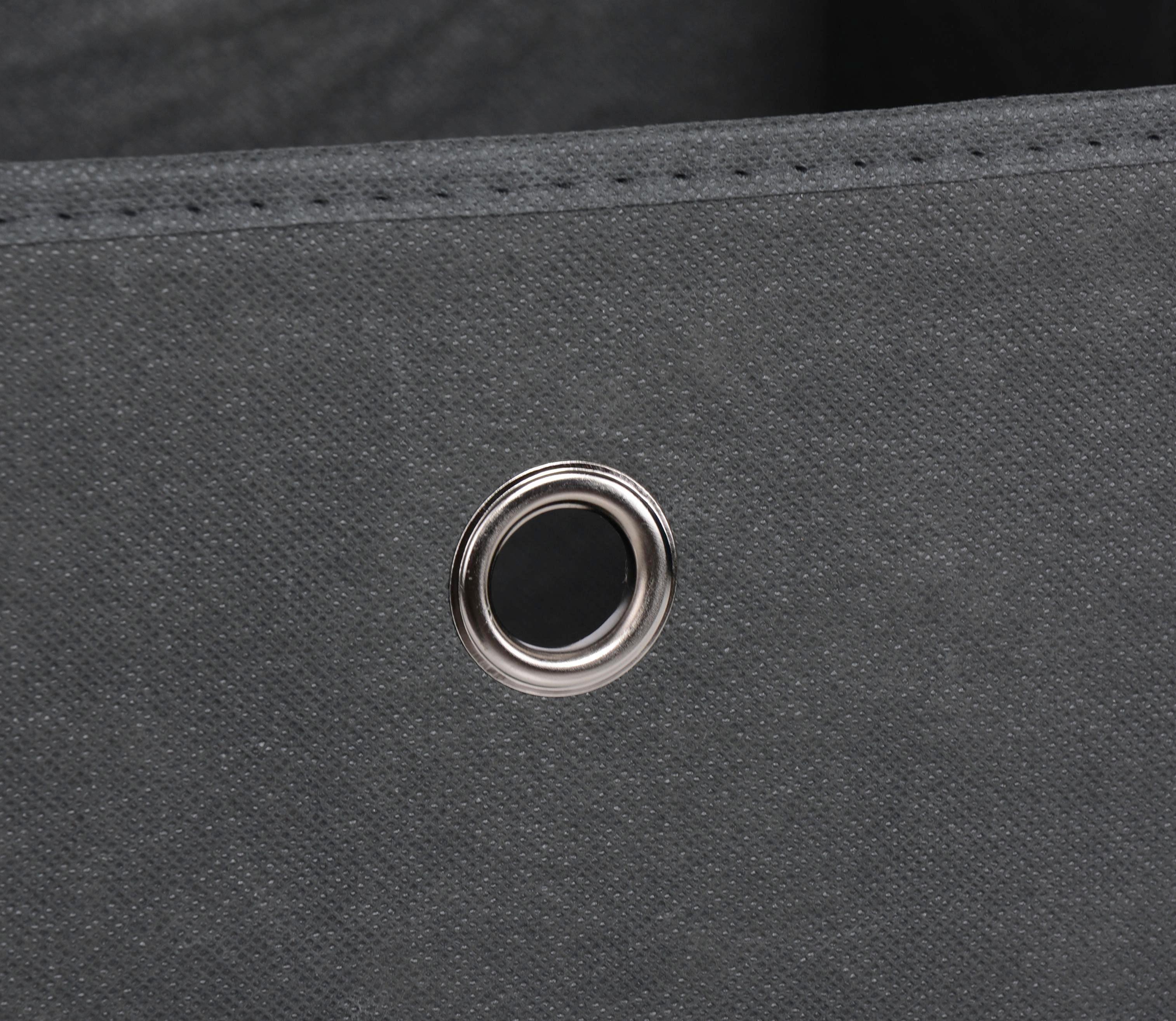 SKLOPIVA KUTIJA - antracit, Design, tekstil (32/32/32cm) - CARRYHOME
