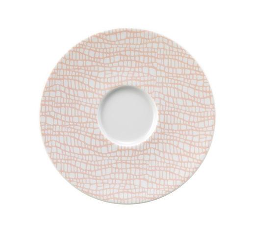 UNTERTASSE  - Rosa/Weiß, Design, Keramik (14/2cm) - Seltmann Weiden