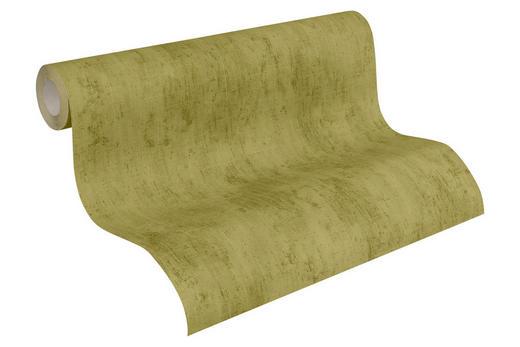 VLIESTAPETE 10,05 m - Grün, Design, Textil (53/1005cm)