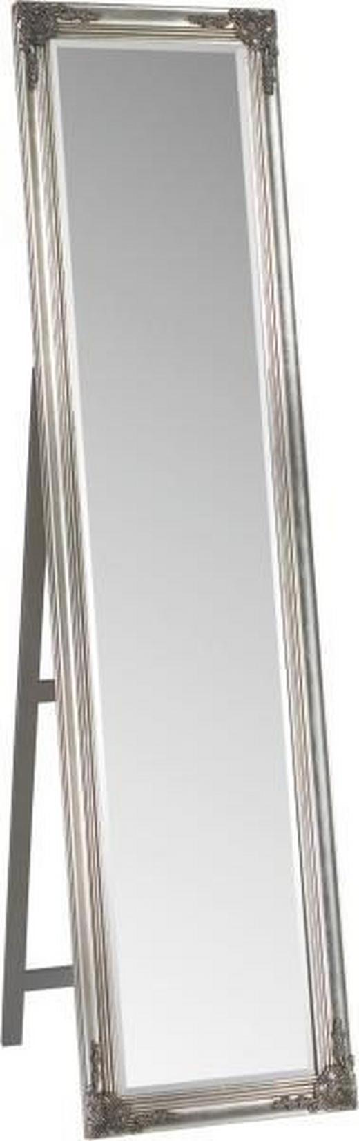 STOJACÍ ZRCADLO - barvy stříbra, Lifestyle, dřevo (45/180/3,3cm) - Landscape