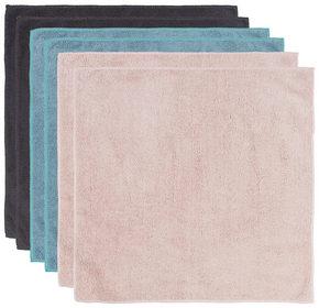 MIKROFIBERDUK - turkos/brun, Klassisk, textil (35/35cm) - Boxxx