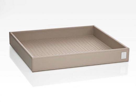 TABLETT Kunststoff - Beige, Design, Kunststoff (26/3,5/23cm) - Joop!