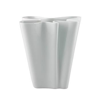 VAZA FLUX, 26 CM - bela, Konvencionalno, keramika (33,9/25,8/18,9cm) - Rosenthal