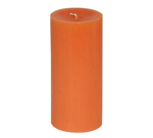 STUMPENKERZE 6,8/15 cm - Orange, Basics (6,8/15cm) - Steinhart