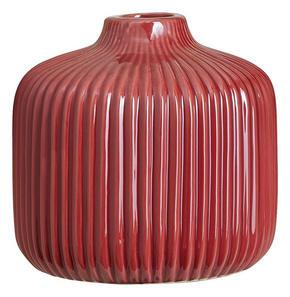 VAS - mörkrosa, Design, keramik (13/12,8cm) - Ambia Home